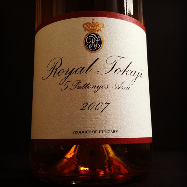 Bottle of Tokaji