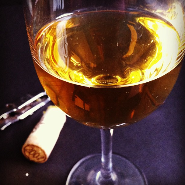 Glass of Tokaji